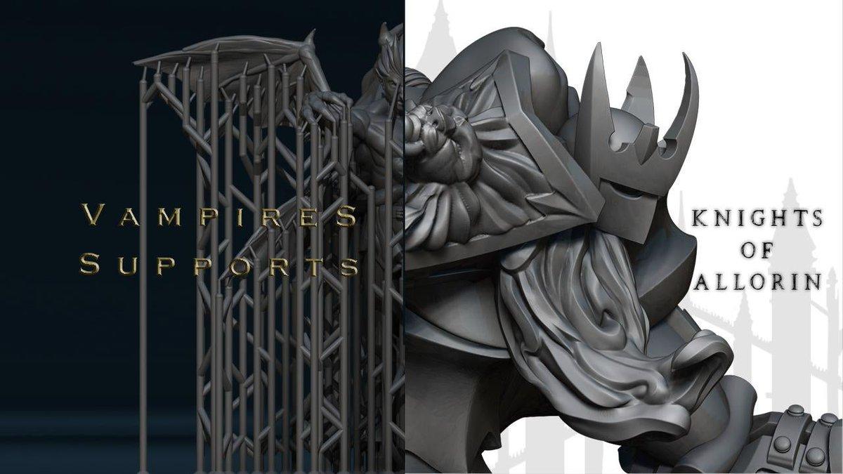 Vampites Unleashed/ https://t.co/VFBxM0N41F  #DnD  #minis #DungeonsandDaddies  #dungeonsanddragons  #tabletopgaming  #3Dprinting  #3dart  #3Dartist  #patreoncreator  #art #ArtistOnTwitter https://t.co/WvnHbRG6pD
