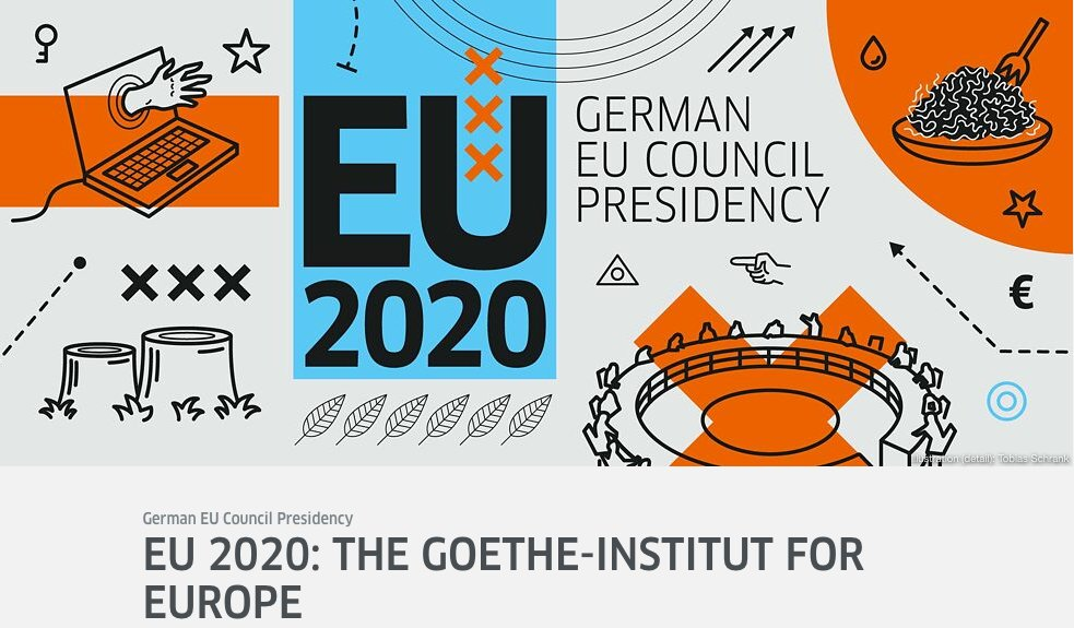 The #GoetheInstitut is supporting five special projects for the duration of Germany's EU Council presidency, from generational storytelling to sustainability. Find out what the projects are all about here: https://t.co/k6jp6g1P7G @GI_Australien #EU2020DE https://t.co/EtC9S5QW0u