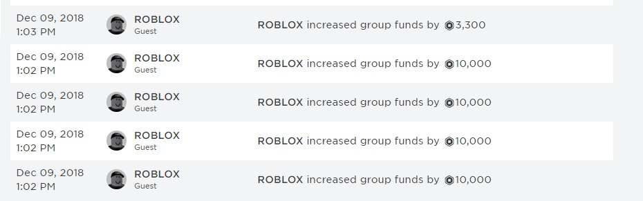 Chris On Twitter Did You Know Roblox Can Increase Group Funds If