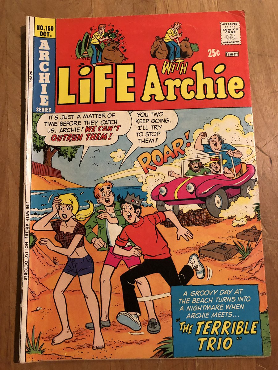 Hear me out - Archie...as G.I. Joe. Let @brian_shearer draw it! I vote for Betty as the shotgun specialist.