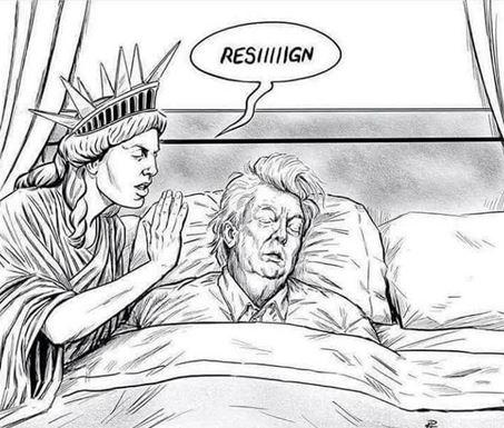 @realDonaldTrump #Resign