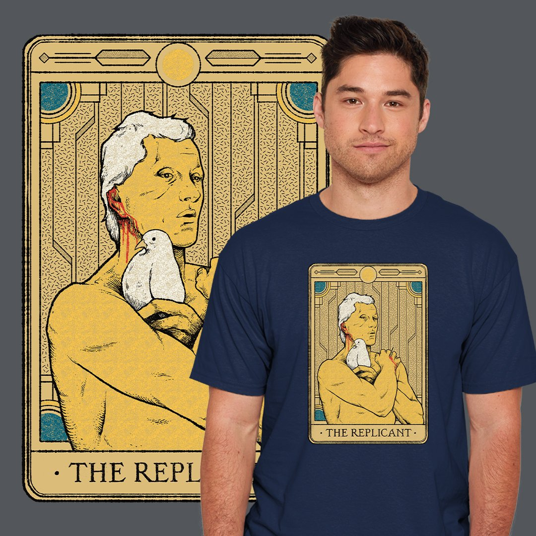 "THE DAILY | ""The Replicant"" by @hafaell starts at just $12 today only at #TeeFury ⚡ https://t.co/IijCWpZpo8 https://t.co/qEcotCnbuy"