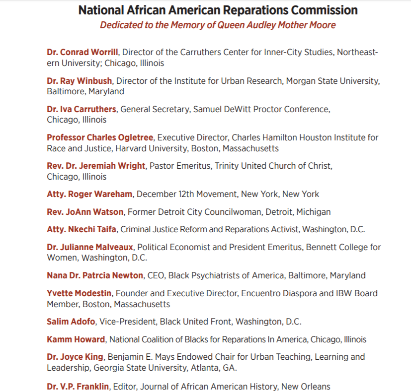 Many of the people that wrote of the 10 Point Plan for NAARC are not ADOS:  Don Rojas = Saint Vincent and the Grenadines Adebukola Ajao = Nigerian Yvette Modestin = Panamanian <br>http://pic.twitter.com/Om3ffSNluv
