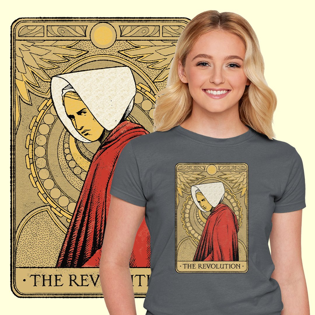 "THE DAILY | ""The Revolution"" by @hafaell starts at just $12 today only at #TeeFury ⚡ https://t.co/pOrVmDfcPc https://t.co/vPB7cuFx3C"
