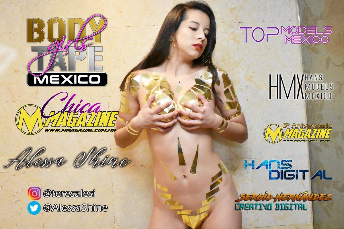@AlessaShine Nuestra modelo del mes de Julio del 2020...  #BodyTape #BodyTapeGirlsMéxico https://t.co/432VQcEynr