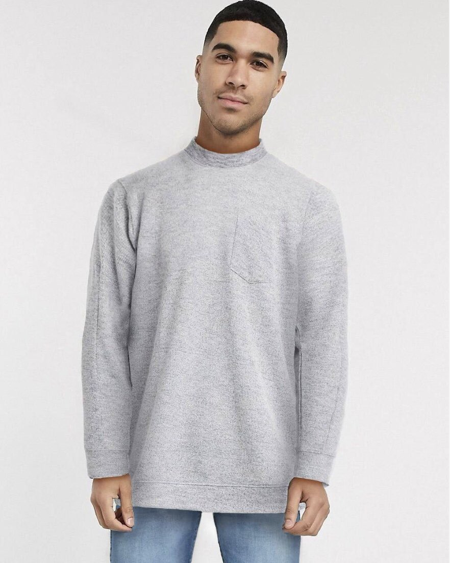 Browsing ASOS, but only because the photoshopping is so mesmerising