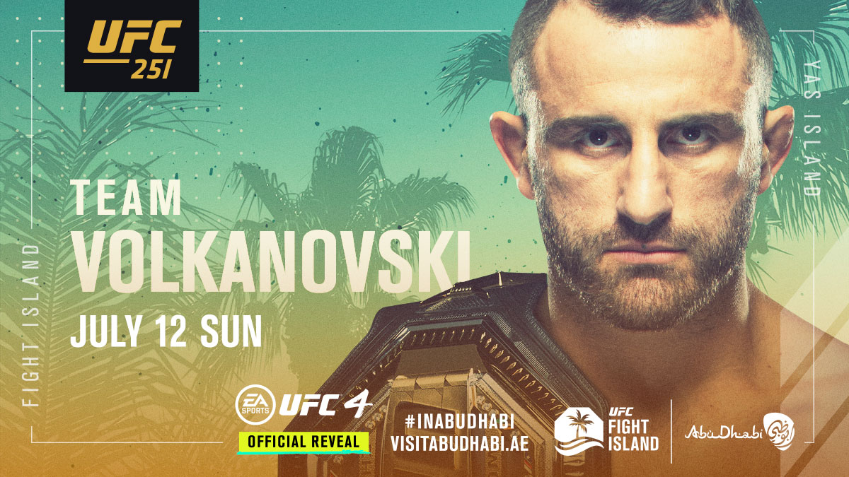 Hit that RT button if you're with THE CHAMP 🏆 @AlexVolkanovski 🇦🇺  Volkanovski defends the title against @BlessedMMA this SUNDAY at #UFC251. Order it on PPV: https://t.co/m7Vzr0jgDT  #InAbuDhabi @VisitAbuDhabi https://t.co/sCVvZbyEja