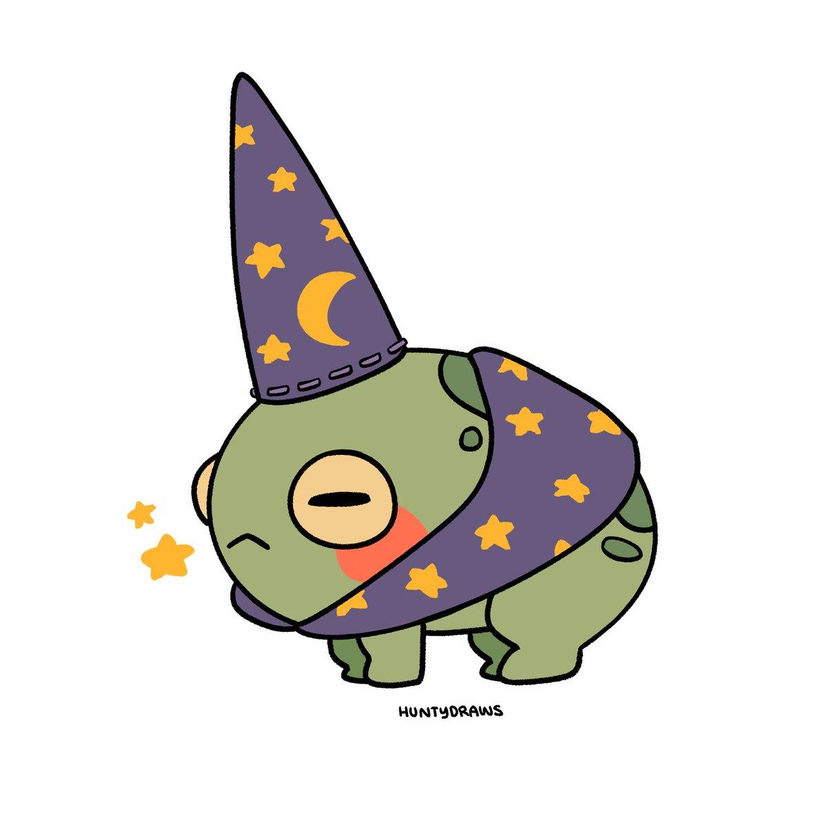 RT @HuntyDraws: wizard frog wizard frog wizard frog https://t.co/CvMfWXyvZJ