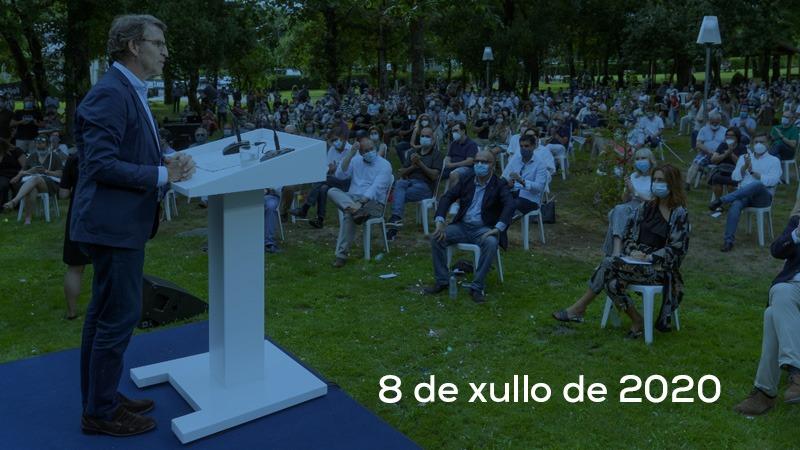 Grazas Vigo, Marín, Ourense e Santiago de Compostela. Hoxe Pontevedra, O Porriño e Vigo. #GaliciaGaliciaGalicia