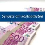 Image for the Tweet beginning: Företag är intresserade av kostnadsstödet.