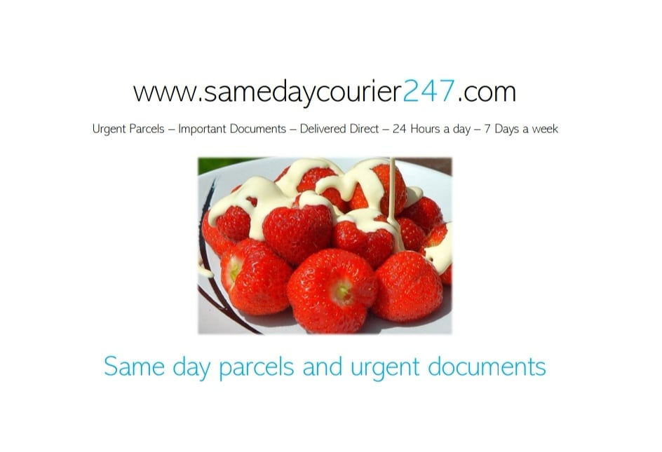 I'm missing #Wimbledon   #Tyneandwear #NorthEast #hebburn #jarrow #sunderland #southshields #northumberland #durham #gateshead #newcastle #parcel #deliveries #documents #sameday #delivery #staypositive #courier #courierservice #morpeth  #southtyneside #strawberries #tennis