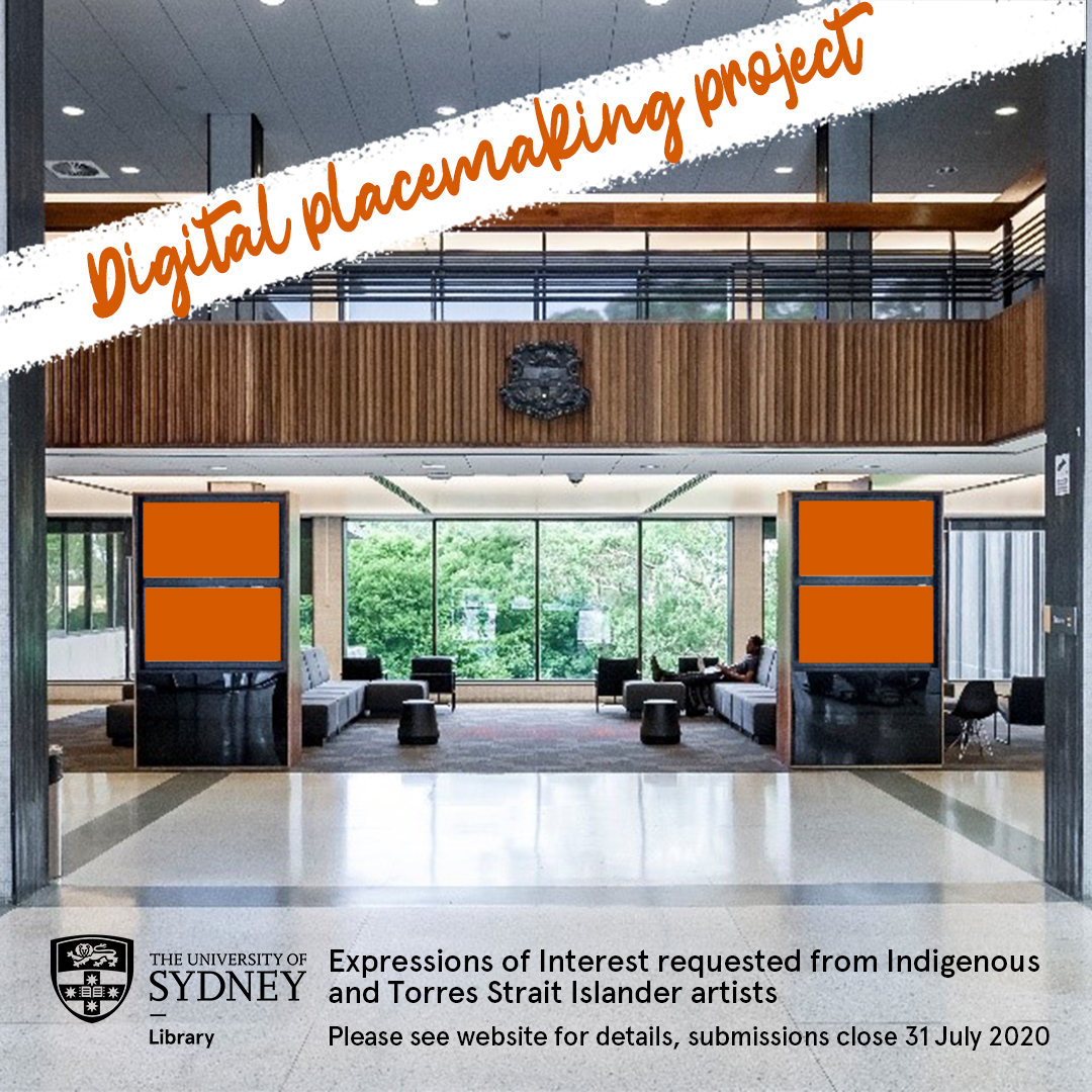 Sydney Uni Library On Twitter Digital Placemaking Project We Re Commissioning Digital Artwork By First Nations Artists To Inform And Celebrate Cultural And Historical Context For Our Library Sites And Incorporate An