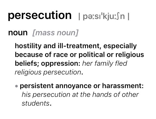Persecution:Persistent annoyance. Ignore the #tags that upset you! -#Christians should focus on Christ & what He called you to do. #Christian like Paul in Ephesus.pic.twitter.com/y2l3U6dFza