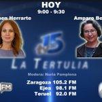 Image for the Tweet beginning: #FelizJueves Hoy en La Tertulia de