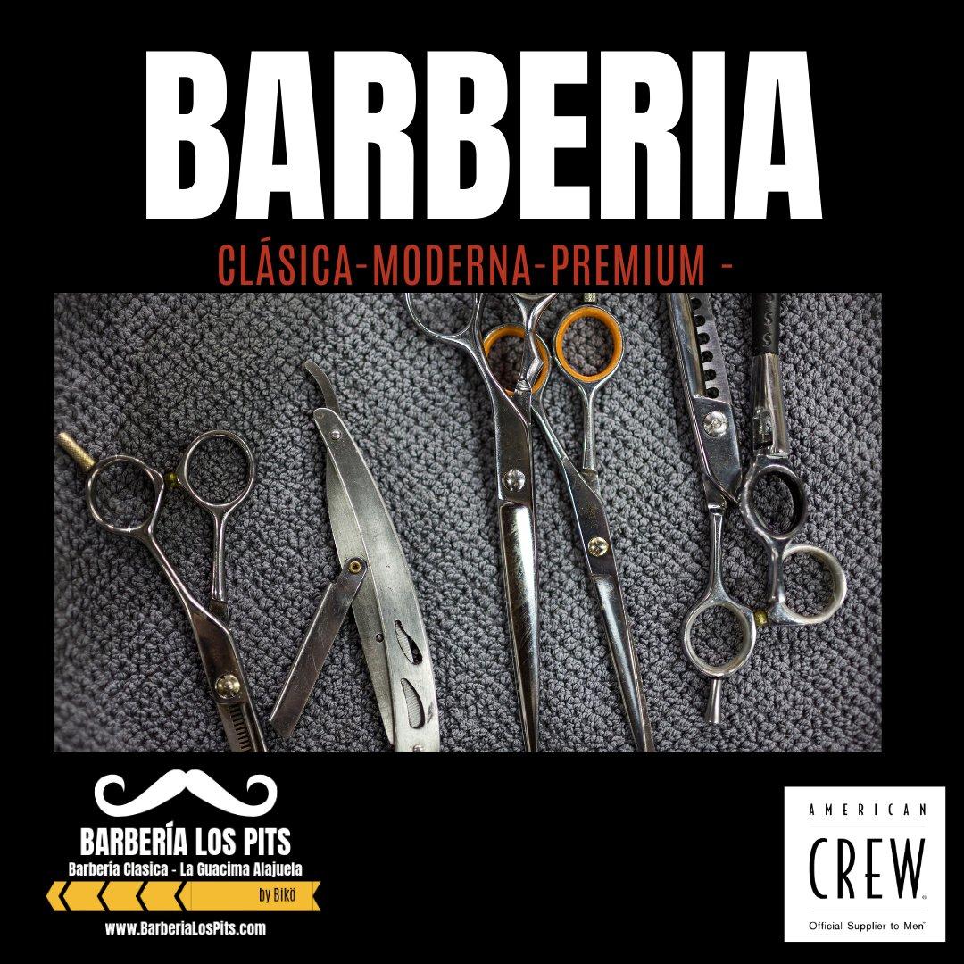 Nos encanta lo que hacemos y lo hacemos mejor que nadie!   Citas: 8705-8686 / http://BarberiaLosPits.com #barberialospits#barberia#barbershop#barberiaclasica#barberiaurbana#abiertodomingos#ciudadcolon#belen#ciruelas#laguacima#guacima#alajuela#costarica #americancrewpic.twitter.com/9VdfuKK0HR