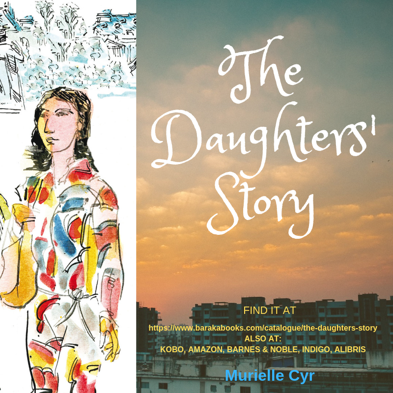 The Daughters' Story by @syremuri A passionate tale of women whose unquenchable need to belong drives them to survive despite all odds. A family saga spanning 2 World Wars, the Spanish Flu & the  October crisis. https://amzn.to/2lXOdaa #booklovers #Bookaddict #Fictionpic.twitter.com/atY2iZNZ8a