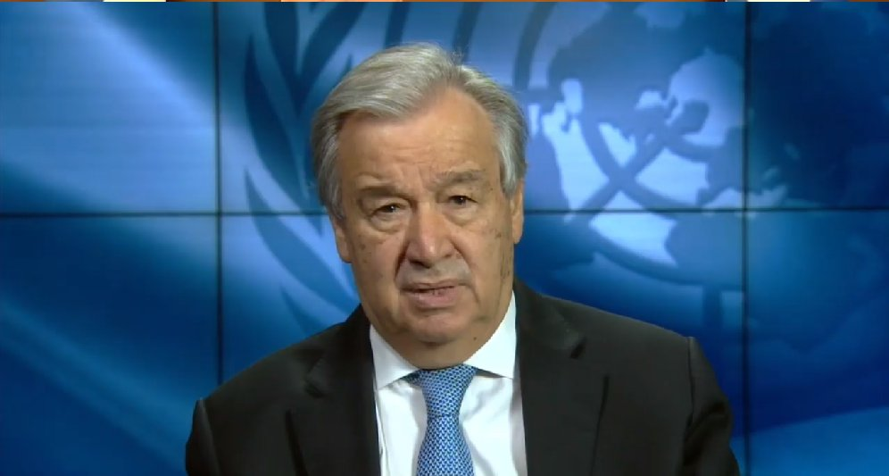 """Let us commit to no new #coal, today, and end all external financing of coal in the developing world. Coal has no place in #COVID19 recovery plans."" .@UN Secretary-General @antonioguterres speaking at #IEASummit today: iea.org/events/iea-cle…"