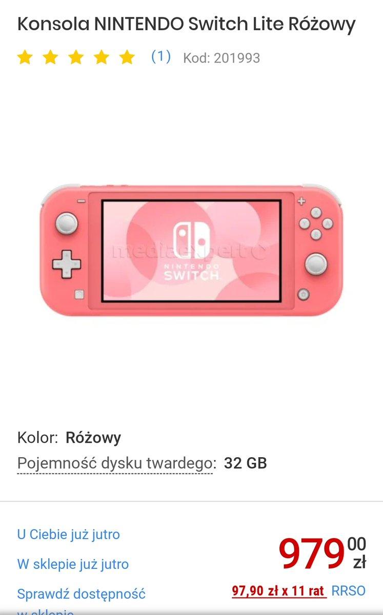 Chce sobie kupić Nintendo switch lite ale będę musiała zbierać chyba rok.... Polecacie je czy lepsze wydaje się Nintendo switch z tymi padami o 500 zł droższy  Dawajcie rt pic.twitter.com/wSITVZAee2