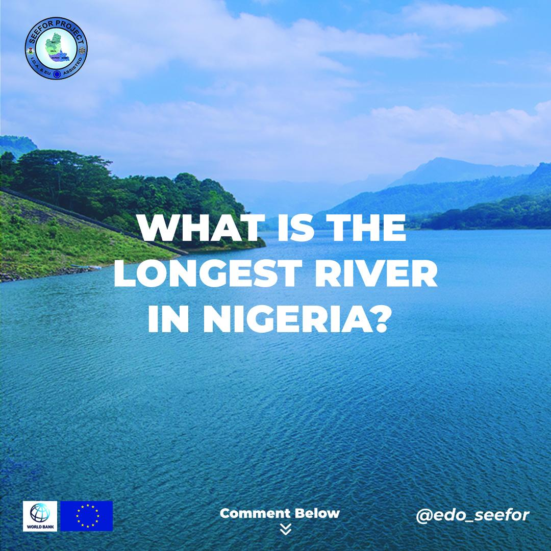 """Hello beautiful people, it's another beautiful day to be grateful for...while you #stayhomestaysafe how about you tell us How well you know your country?  """" WHAT IS THE LONGEST RIVER IN NIGERIA?"""" Drop your comments below 👇👇 #EdoSeefor #thursdaytrivia https://t.co/vKezW0Tr4a"""