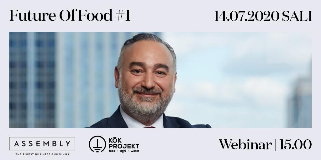 Ekosistem partnerimiz @KokProjekt ile gıda ve tarım sektörünün geleceğini tartışıyoruz!  Future of Food #1 webinarı'nda Tekfen Agriculture Genel Müdürü Emrah İnce ile buluşuyoruz. Detaylı bilgi: https://t.co/SVfJtwew1t #FutureofFood #ProgressiveBusinessSociety #AssemblyBuildings https://t.co/aDJmj796eM