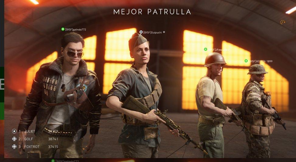 @battlefield_es  Seguimos conquistando #BattlefieldV #XboxOneX y seguiremos..pic.twitter.com/c7oyqMOCmD