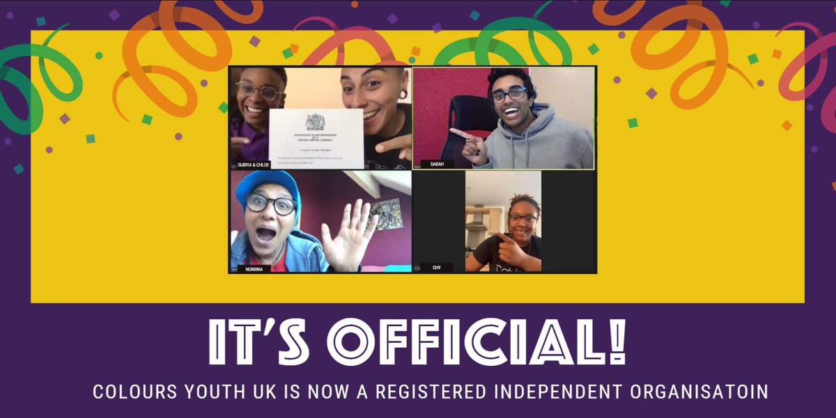 ITS OFFICIAL! We are our very own FULLY LGBTQ POC LED INDEPENDENT COMPANY!!! 🥳🥳🥳🥳 We are still 12k away from our 50k fundraising target friends, thank you for all the support and love so far! Please do keep sharing and donating - you are all helping us make this happen! 🌈💜