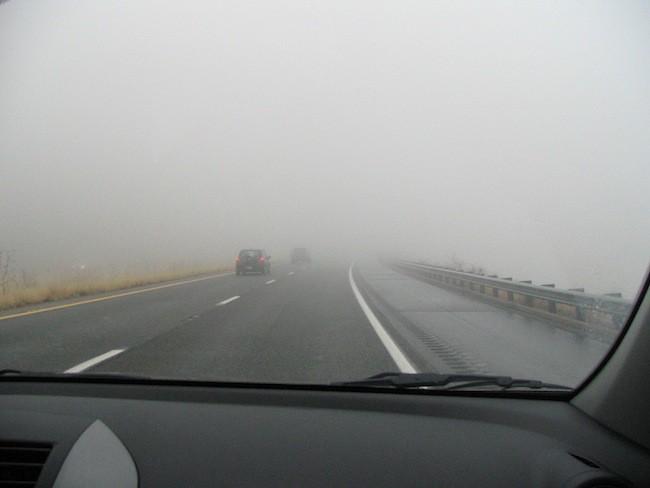 ⚠️ #ExtremaPrecaución por #Niebla #Recomendaciones  *Reducir la velocidad. *Aumentar la distancia con el vehículo que va adelante. *Luces BAJAS encendidas y si el vehículo posee, luces antiniebla. *Evitar maniobras de sobrepaso. *No circular con balizas encendidas.