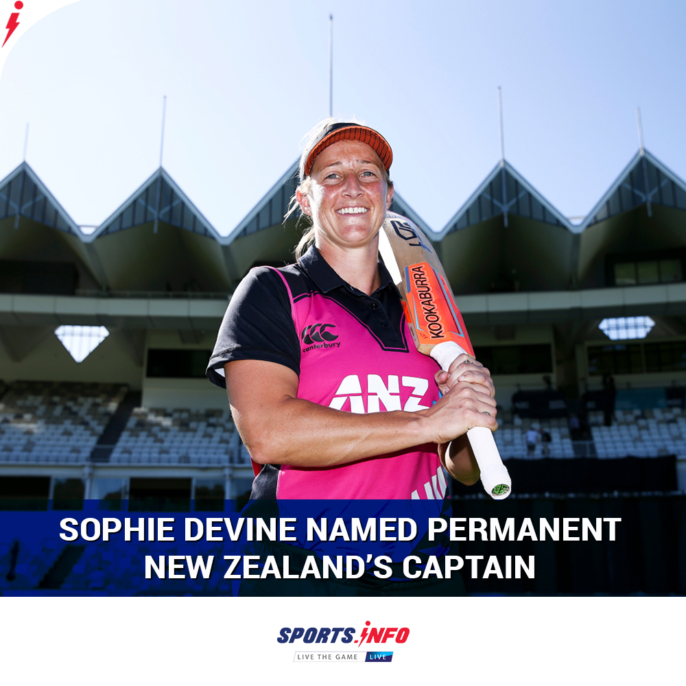 All-rounder Sophie Devine will replace Amy Satterthwaite to become the new captain of the New Zealand women's team.  . . . #SophieDevine #WHITEFERNS #Captain #NewZealandCricket #SportsDotInfo <br>http://pic.twitter.com/9BCR4Rmq9O