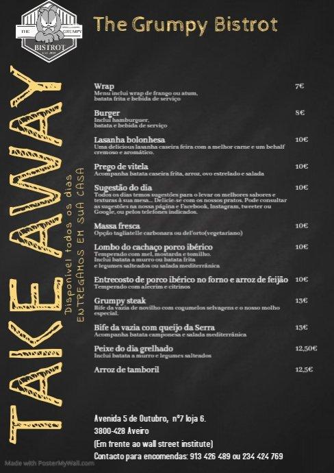 #thegrumpybistrot #thegrumpychef #aveiro #maisdoquecomida #foodlovers #finedining #loveonaplate #joaormourao #ondecomer #foodies #cookyourassoff #asyouwere #emocoes #mjgamelas #massafresca #produtosfrescos #docampoparaamesa #peixebom  #blackangus #chefworks #aveirolovers