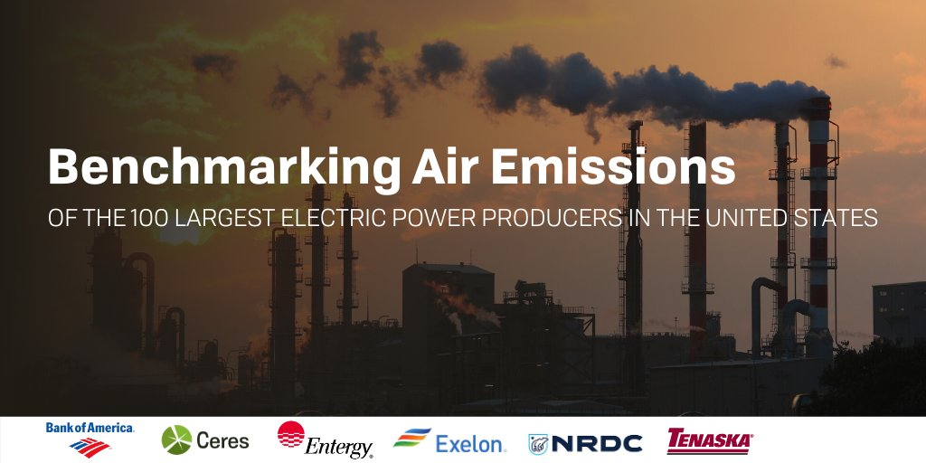 The latest @CeresNews Benchmarking Air Emissions Report is out! Find out how the 100 largest U.S. power companies stack up when it comes to emissions: ceres.org/resources/repo… #IEASummit