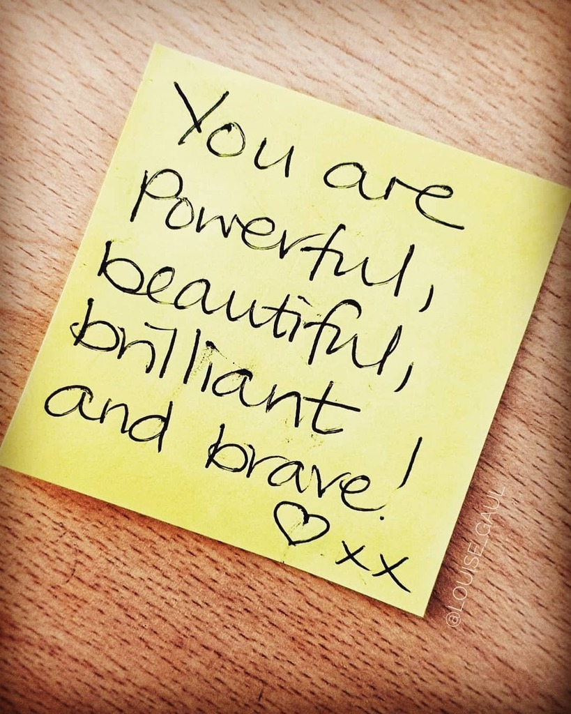 For anyone who needs to see or hear this today... ❤  #alllivesmatter #beautiful #belief #believeinyourself #brave #brilliant #goodvibes #goodvibesquotes #instalove #instaquote #love #loveyourself #positive #positivequotes #positivevibes #powerful #qu…