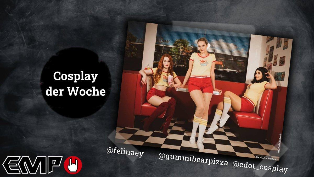COSPLAY DER WOCHE   Manchmal hat man als Cosplayer Glück und kann Fotos in der perfekten Location machen!  Diese coolen Riverdale Cosplays wirken wie direkt aus der Serie und sind deswegen unser Cosplay der Woche! :D  Schaut bei den drei unbedingt auf Insta vorbei! :) pic.twitter.com/d7wpGFuRZG