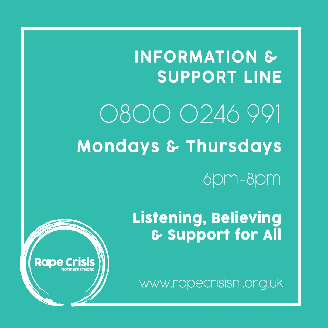 We are on the line this evening, 6pm-8pm for anyone who has been impacted by rape or serious sexual assault in adulthood.   #YouAreNotAlone <br>http://pic.twitter.com/a9l5uWZIsD