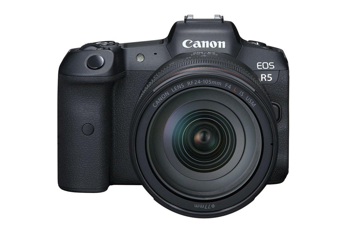 Canon announces the EOS R5, an 8K-shooting pro mirrorless camera
