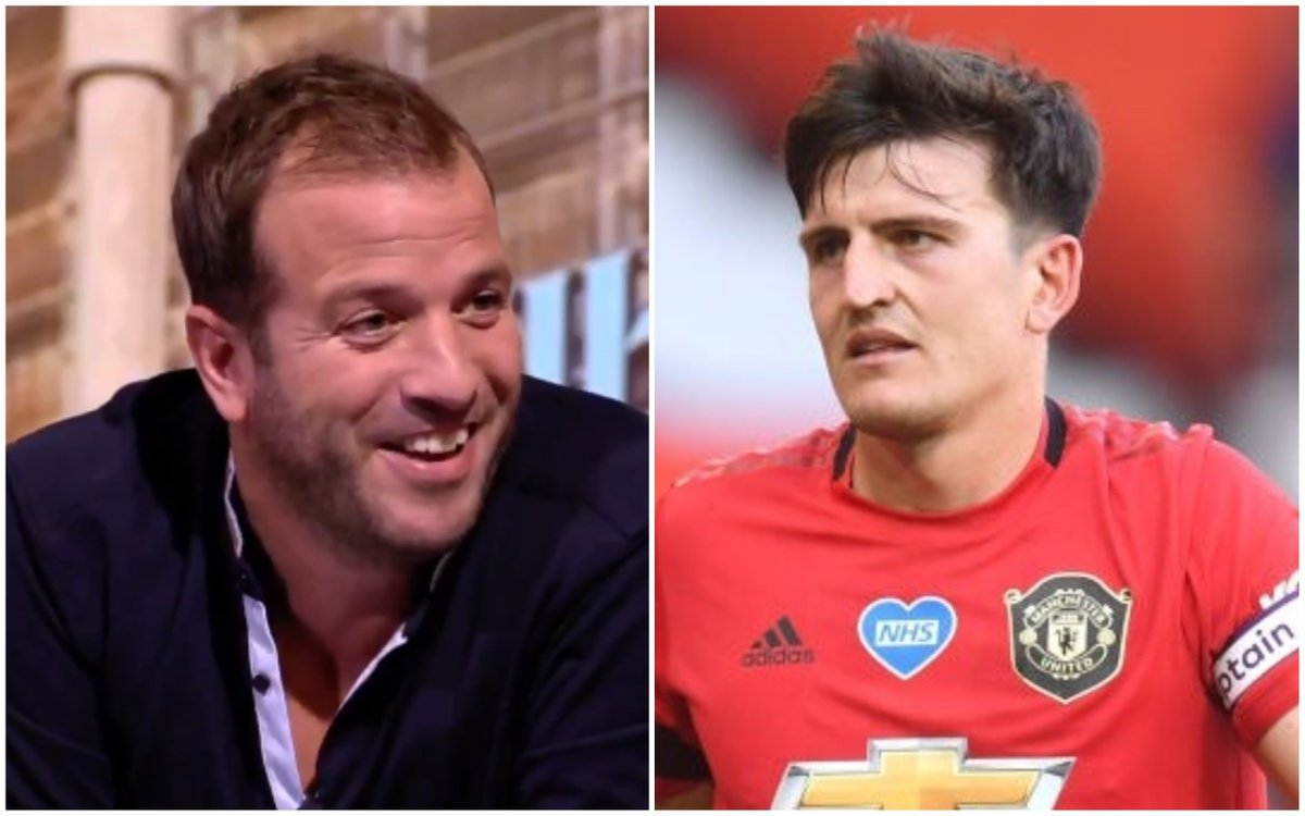 football tweet on twitter rafael van der vaart on harry maguire i think maguire goes home every day and tells his wife i m so shit at football but i earn so rafael van der vaart on harry maguire