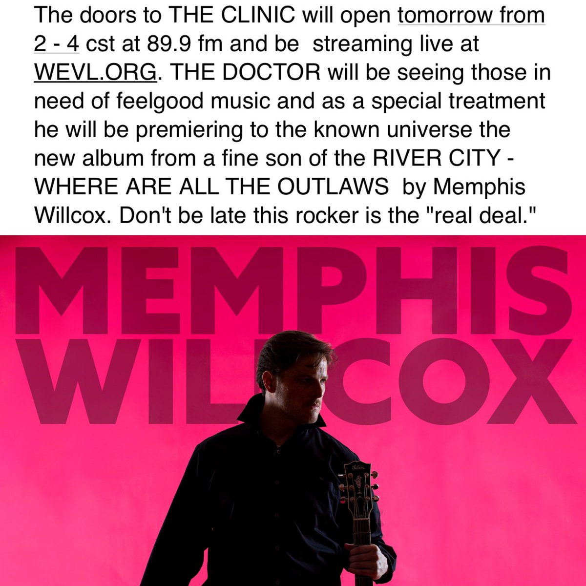 #Memphis #Memphisaf #NYC #LA #Rock #countrymusic #Blues #Soul #Warner #Universal #Sony #Knoxiville #ScruffyCity #GrindCity   @grindcitymedia @FrasierSein @memgrizz @TigersAthletics @MemphisFB @Memphis_MBB @memgrizz @scottborchetta @MattRossSpang @LutherDickinson @AtlanticRecords https://t.co/uikOZBNlHX