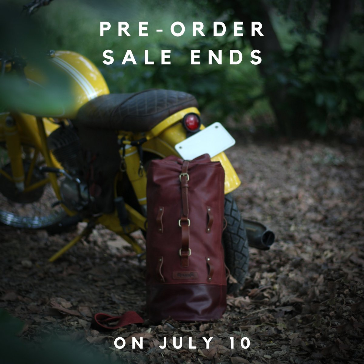 TWO DAYS LEFT TO PRE-ORDER  Tomorrow is the last day to order the Duffel with a 20% Discount. #militaryduffel #leathergoods #bikerlife #bikerlifestyle  #dufflebag #duffle #rajdoot175 #vintagemotorcycle #twostroketuesday #twostroke #tripmachineco https://www.tripmachinecompany.com/collections/military-dufflebag…pic.twitter.com/f1oTOQMqQn