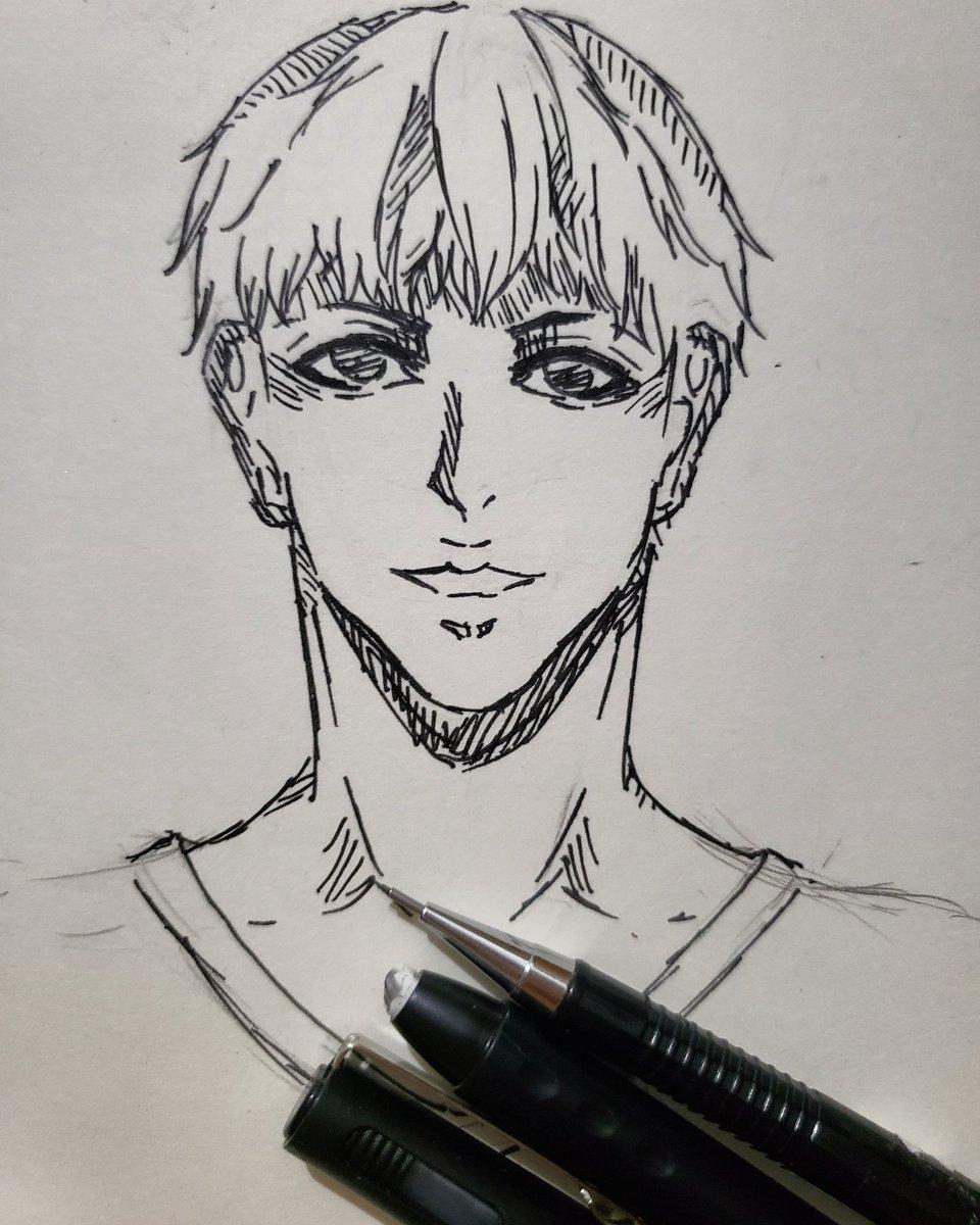 #mangadrawing #art_shoutouts_1 #colorpencil #mangaart #animeart #sketches #sketchbook #inkdrawing #drawingsketchpic.twitter.com/SogmFkcOUM