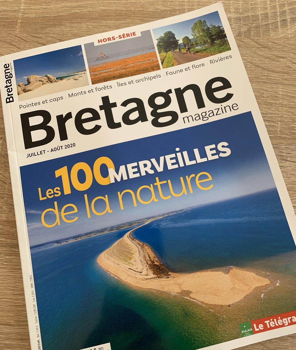 Merci merci à mon collègue Cyril qui a pensé à moi aujourd'hui !! 😘 Voilà un super road-book pour cet été en #Bretagne 💖