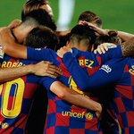 Image for the Tweet beginning: El Barça ganó en el