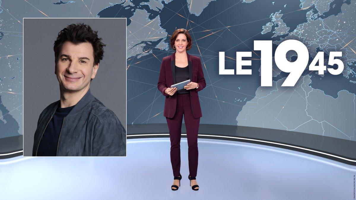 Ce soir, @MichaelYoun sera l'invité du #19H45 présenté par @NathalieRenoux à l'occasion de la sortie en salle du film « Divorce Club » le 14 juillet 🎬 https://t.co/Dct9VI3ze6