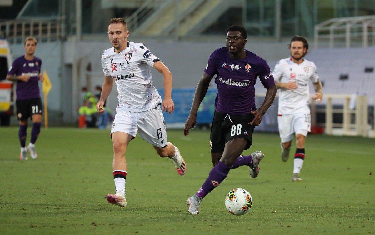 #FiorentinaCagliari