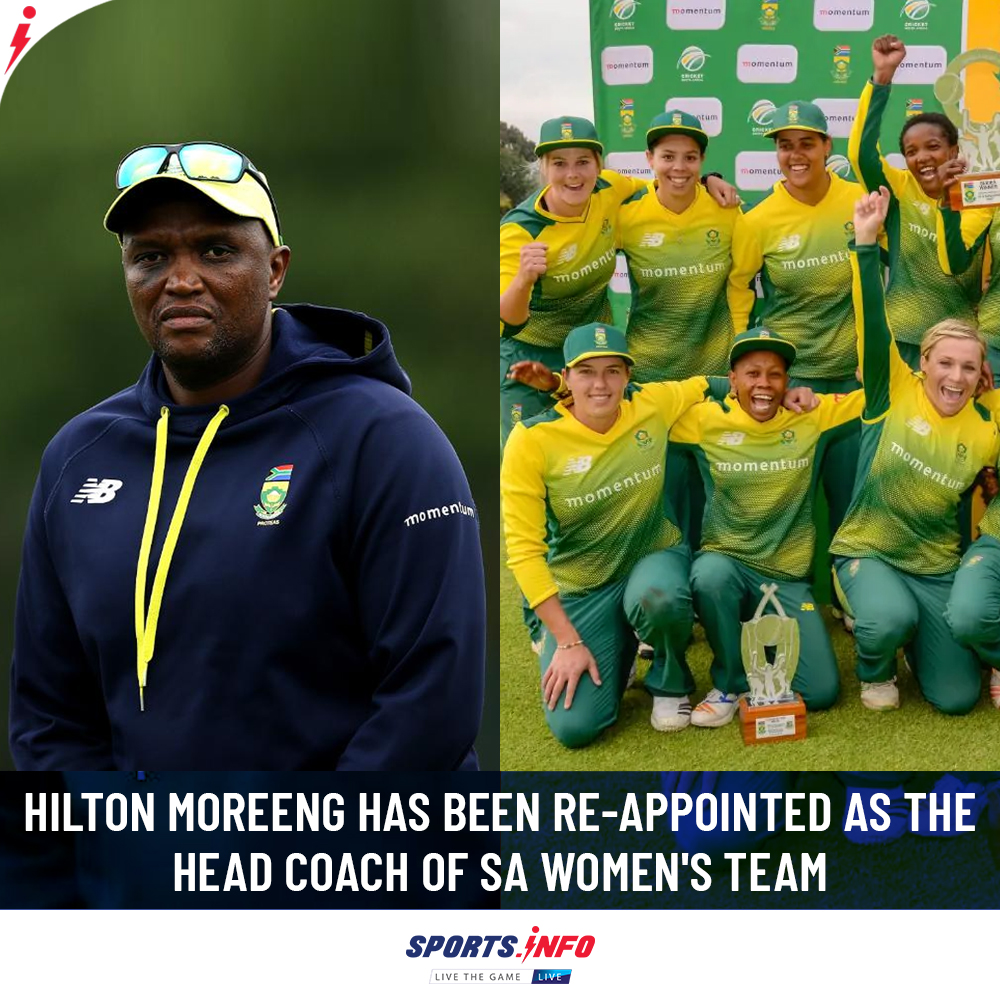 Hilton Moreeng will be in the post for the upcoming   years. . . . #WeAreMore #AlwaysRising #SouthAfrica #SportsDotInfo #ProteaFire #ThursdayThought #thursdayvibes<br>http://pic.twitter.com/pT0Cgzp4XH