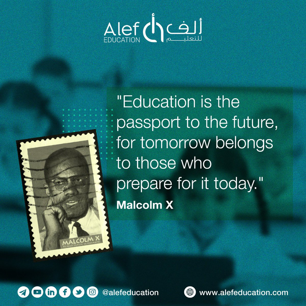 """""""Education is the passport to the future, for tomorrow belongs to those who prepare for it today.""""   - Malcolm X  #distancelearning  #LearningDoesnotStop https://t.co/YJVFfQnyIP"""