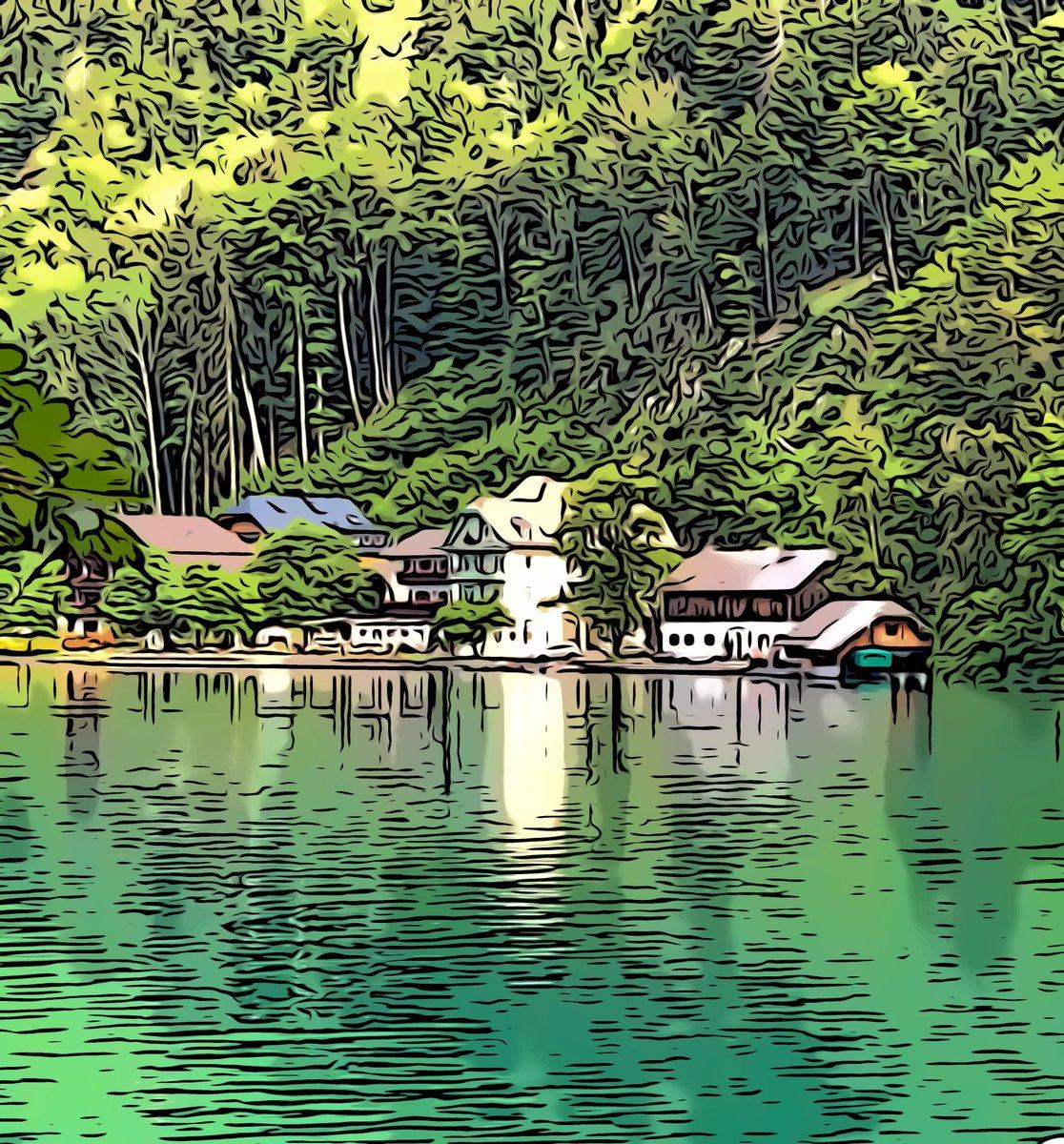 Guten Morgen. Heute: Im wunderschönen Fürberg am Wolfgangsee #einsommerwiedamals #cliffdiving #salzkammergut