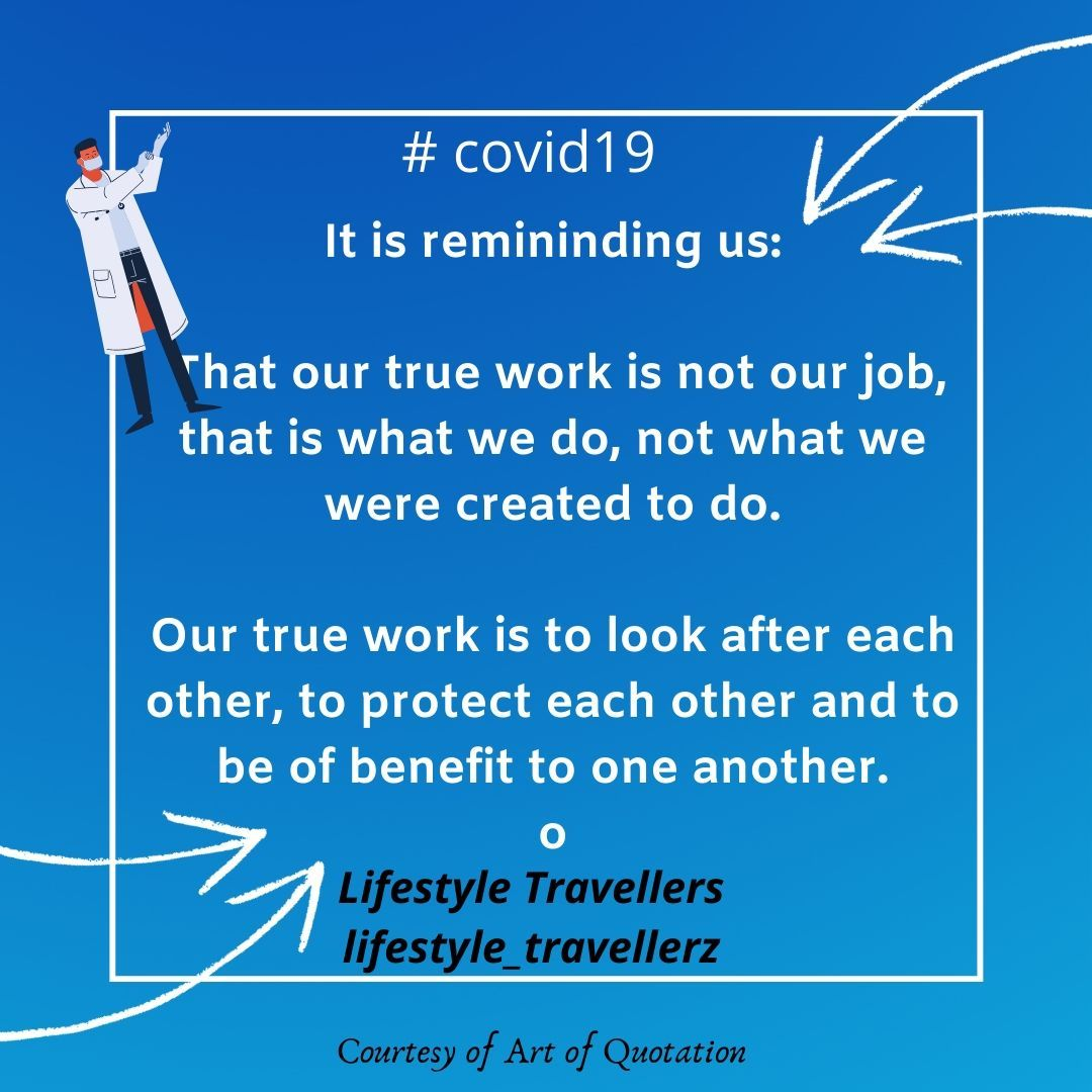 Is this what covid is here to remind us of ? Looking after each other?  #lifestyletravellers #lifestyle_travellerz   #australia #caravanlife #travel #outbackaustralia #outbackqld #outbackqueensland #nswtravel #outbacknsw #retiree #retiredandcaravanning #COVID19 https://t.co/v4rFepVKpL