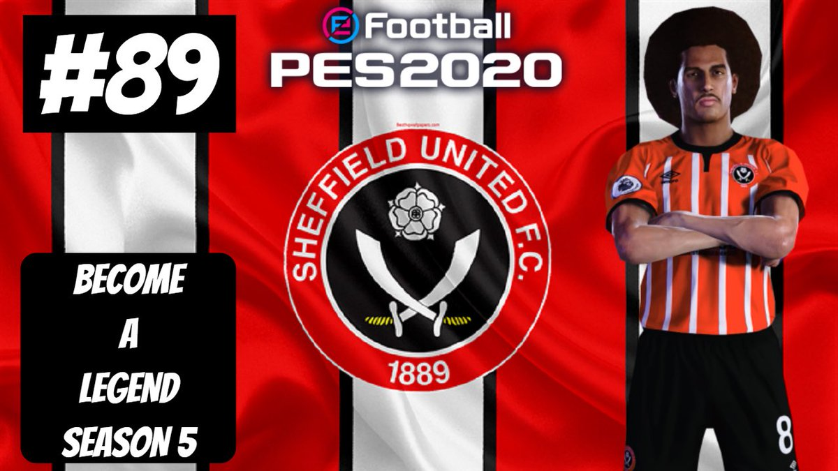 PES 2020 - BECOME A LEGEND - ONE CLUB MAN - EPISODE 89 is now uploaded! LINK IN THE BIO SUBSCRIBE FOR MORE VIDEOS #becomealegend #proevolutionsoccer #pes2020 #youtube #proevolutionsoccer2020 #gamer #gaming #football #goals #soccer #championship #sheffutd #careermode2020 https://t.co/tUruUZYnsh
