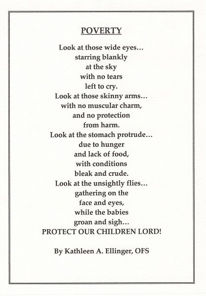An inspiring poem about #poverty.. Many many thanks to Ms. Kathleen Ellinger for writing this and showing us how deeply this runs in society! #PovertyCrowdfund #Trending #thursdayvibes #ThursdayThought #thursdaymorning #EndTheNightmare #endpoverty #letsmakeithappen