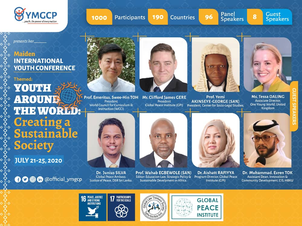 An #International #Youth #Conference from the stable of #YMGCP is on the way. To be a part of this life transforming experience, do click on the link below to register.  http://Bit.ly/YMGCPConferenceForm…pic.twitter.com/MASuGlEV9D