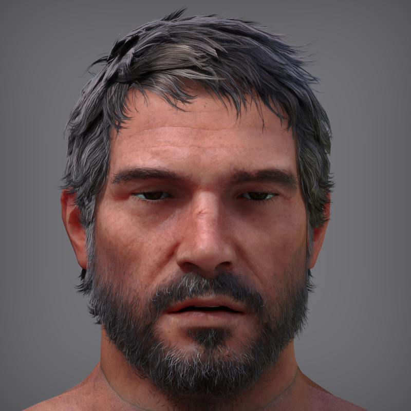 He almost looks 20 years younger there 🙂- Skin shader 9.2 finally optimized for his model (in-game model preview)